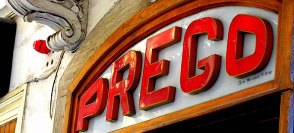 Prego cafe in Valletta, where the 1960s lives on.