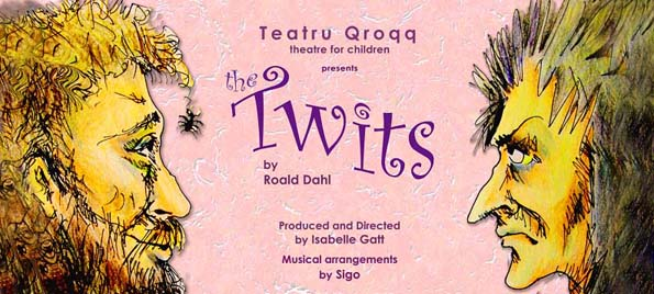 The Twitts, Teatru Qroqq