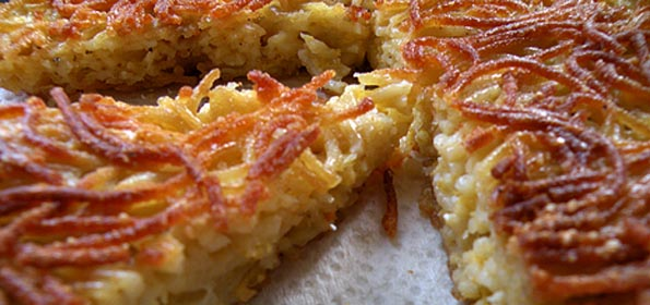 'Waste not want not', Maltese style: spaghetti omlette