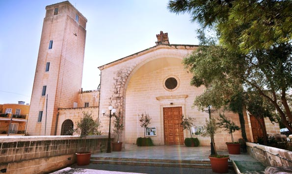 A far cry from Malta's regular baroque churches, but draws a packed house