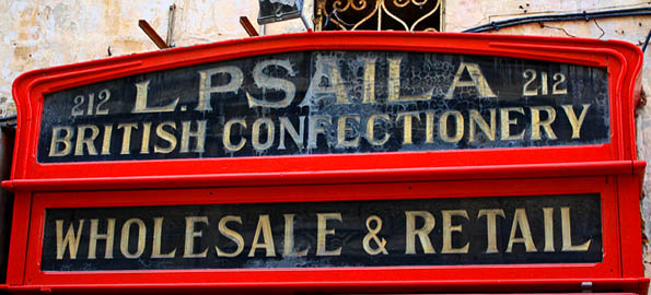 Business information in Malta used to be about walking past shop fronts.  Now it's more likely found online.