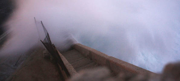 A life-risking shot, the photographer said. Malta in winter can also be calm, kind and warm, believe it or not.