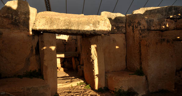 Mnajdra's winter solstice; the same as it's ever been, tented temples or not t