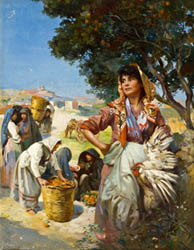 Edward Caruana Dingli: 'The Orange Seller'