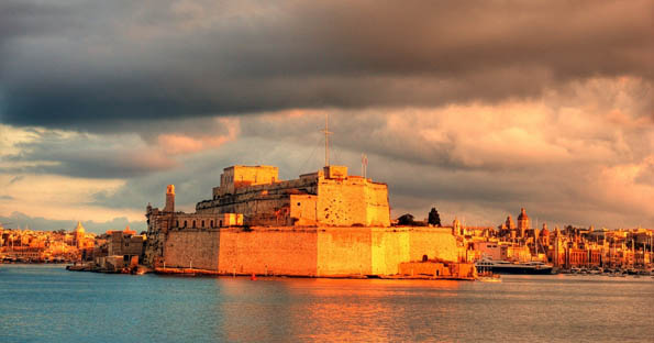 Fort St Angelo - the reason Birgu is called Citta' Vittoriosa