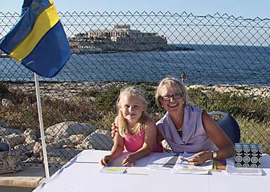 A warm Swedish welcome. In Malta?