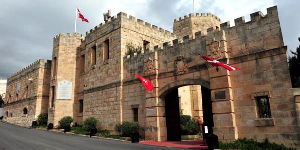 Castello dei Baroni, Wardija, Malta.
