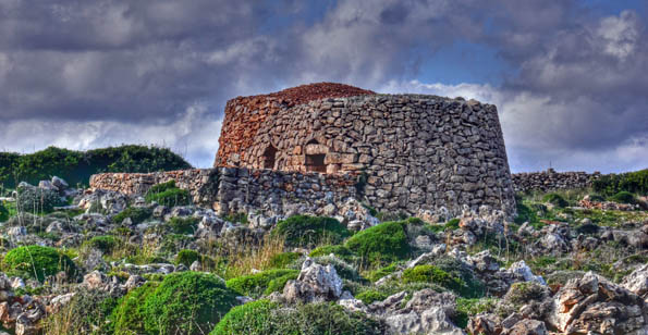 Abandoned but not forgotten: a Girna once used by farmers preserved in Malta's first national park.