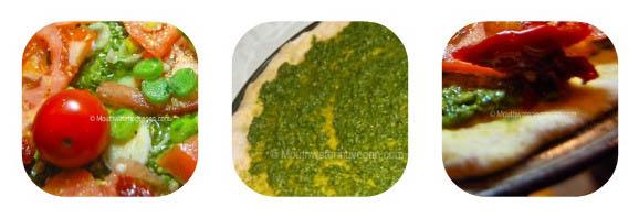 Maltese vegan pizza
