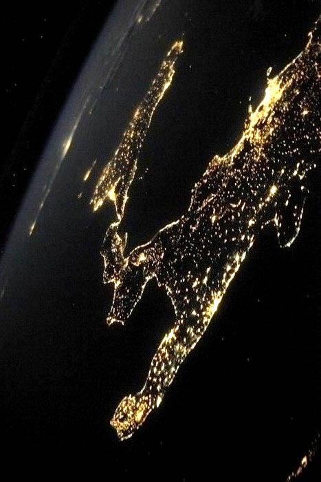 So near and so far: Malta a dot from space