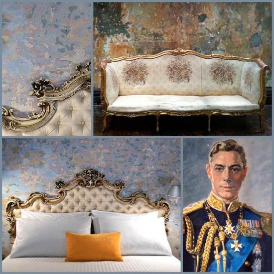 Kings Speech lookalike room in a Malta house