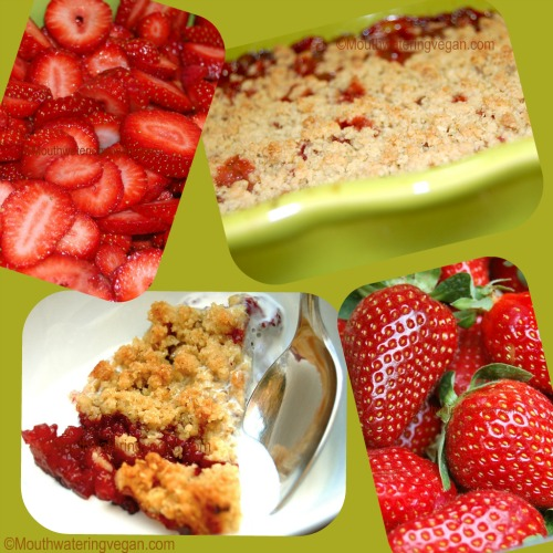 A humble crumble? Not if with Maltese strawberries though!