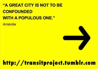 Transit quote & logo