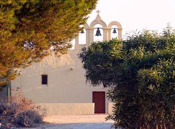 Comino Chapel at near sunset: Photo Leslie Vella
