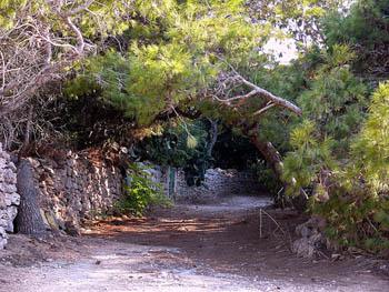 Comino's hidden paths