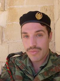 David Carabott as an Iraqi soldier