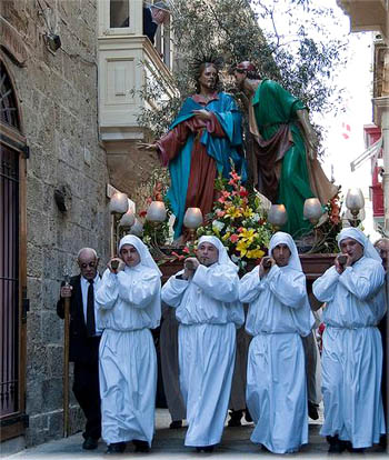 Good Friday Procession, Rabat. Photo: Mario George Vella