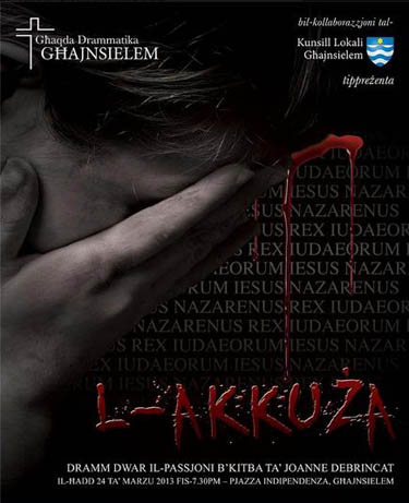 L-Akkuza passion play. Ghajnsielem