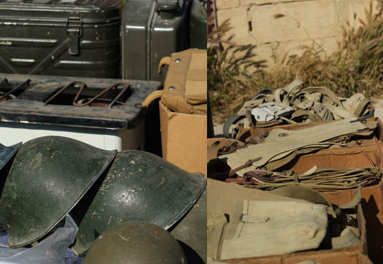 Army surplus, Birgu Flea Market