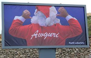 PL billboard Xmas 2012