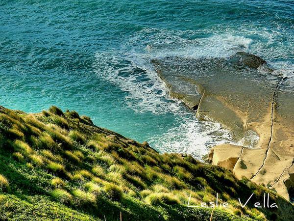 Gnejna Coast, Malta by Leslie Vella