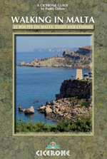 Cicerone Walking in Malta Guidebook