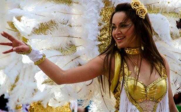 Nadur carnival girl, 2013
