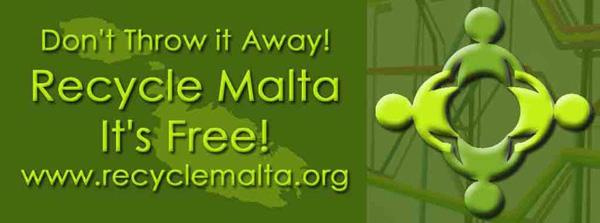 recycle malta logo