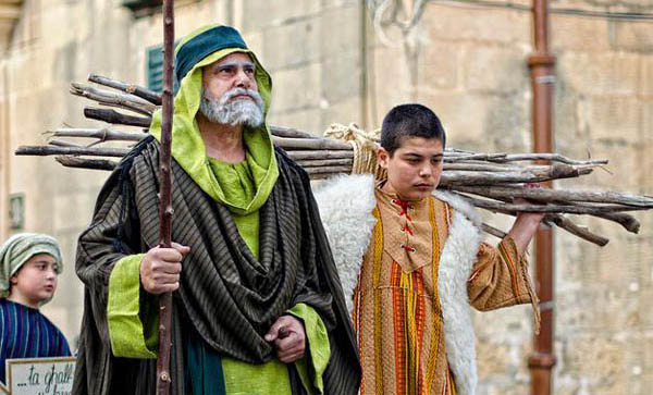 Good Friday procession Xaghra Gozo