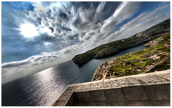 Panoramic View from the Mġarr Ix-Xini Tower