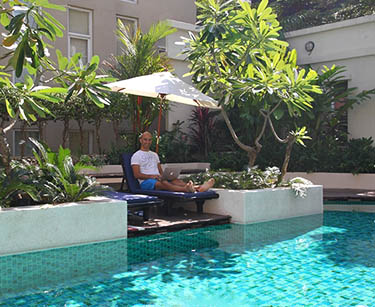 Jean Galea, enjoying digital nomad days in Thailand