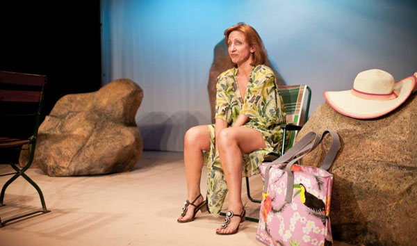 Life-changer. Isabel Warrington as Shirley Valentine. [Photo: Dragana Rankovic]