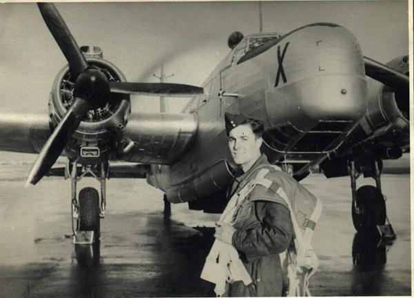 Lionel Ayling, Bomber Squadron, Thorney Island, 1950.