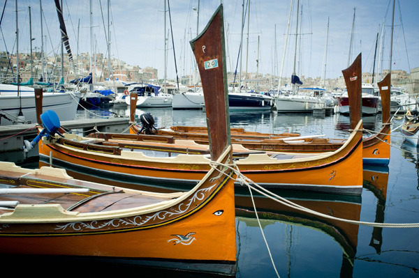 Fishing boats, Malta. Photo: D. Rankovic.