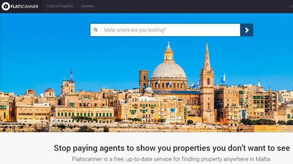 Flatscanner.net free property search in Malta