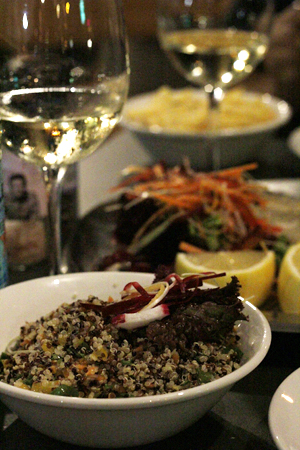 quinoa salad, Electro Lobster Project