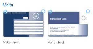 EHIC Malta card